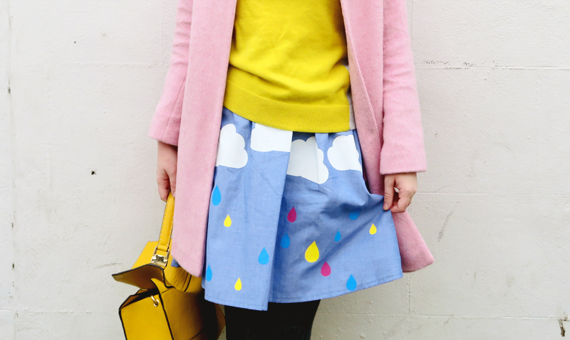 rainy day skirt theres only one amy laws