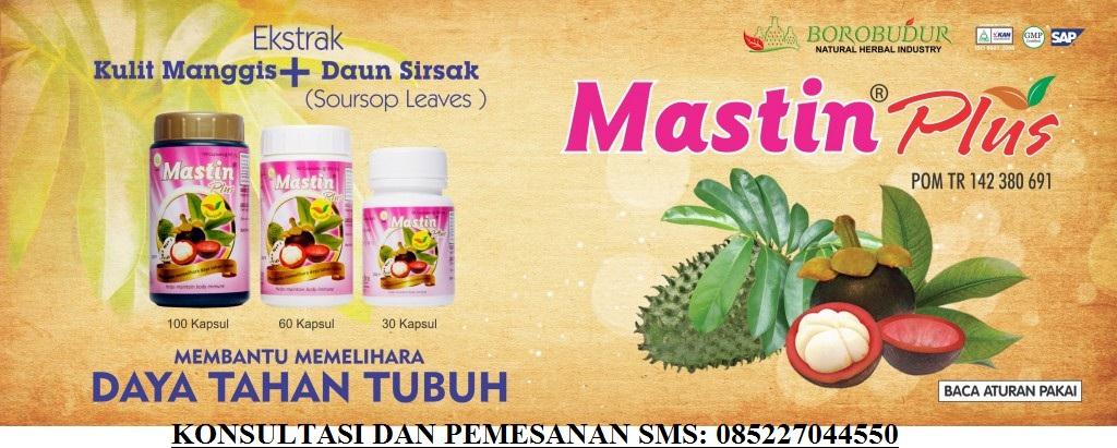 KULIT MANGGIS + DAUN SIRSAK ORDER SMS 085227044550