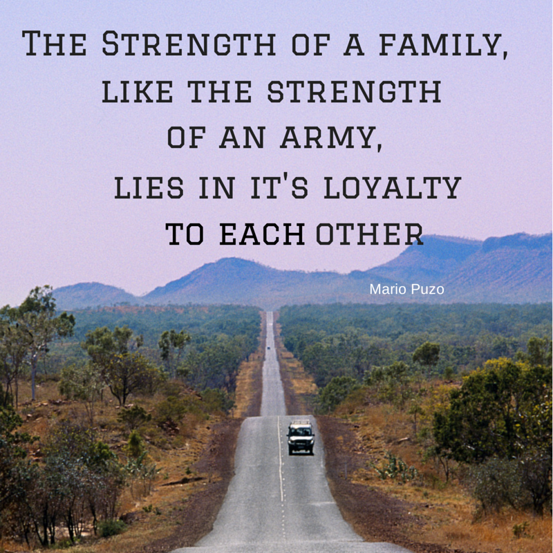 essay about loyalty to family