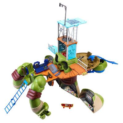 TOYS : JUGUETES - LAS TORTUGAS NINJA : Mutations  Giant Leonardo Playset  TMNT | Teenage Mutant Ninja Turtles  Producto Oficial Serie Television Nickelodeon  2015 | A partir de 4 años  Playmates Toys - Giochi Preziosi 95151  Comprar en Amazon España & buy Amazon USA