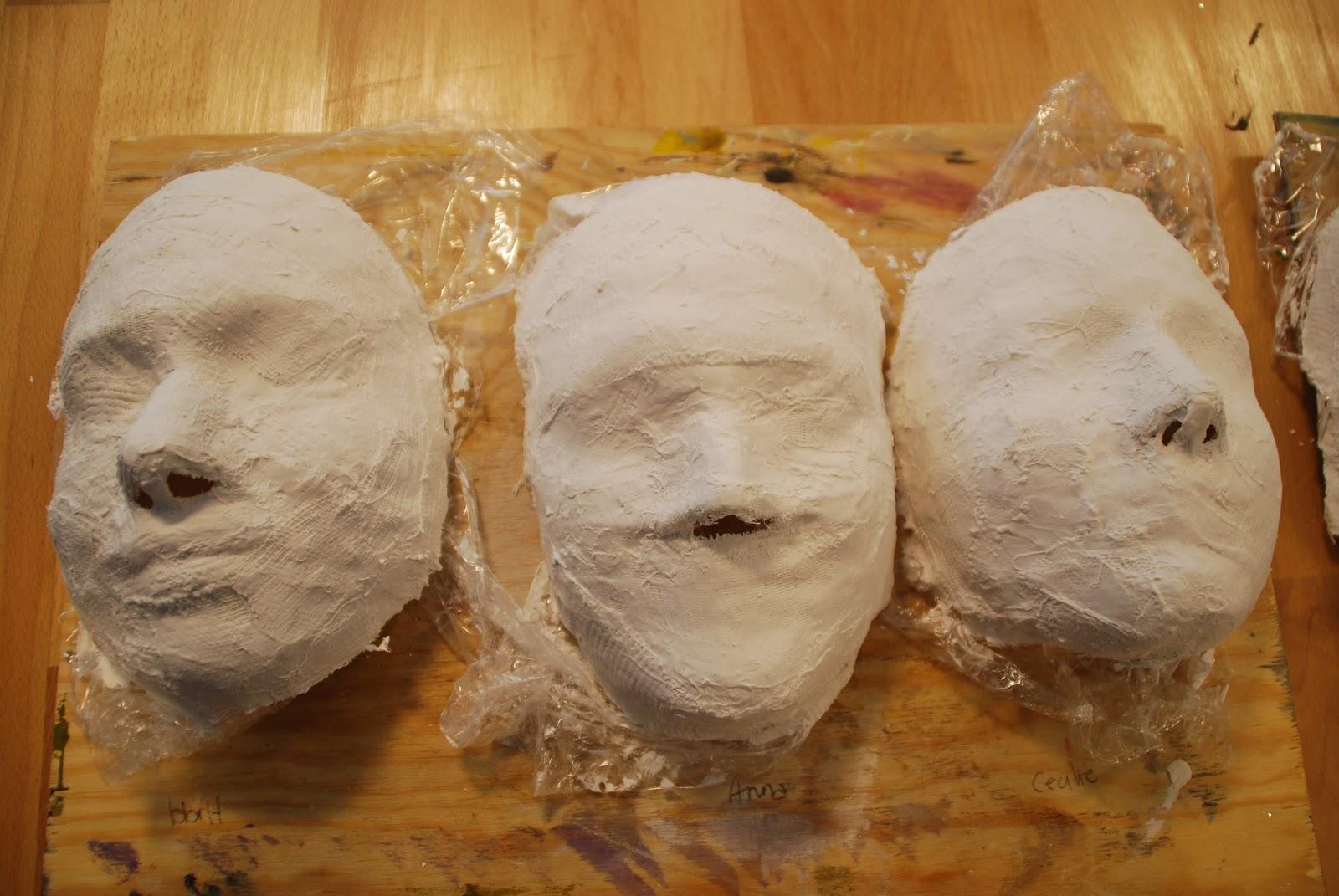 Pappmasje maske