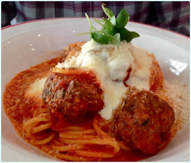 Jamie Oliver's Diner, London - Meatballs