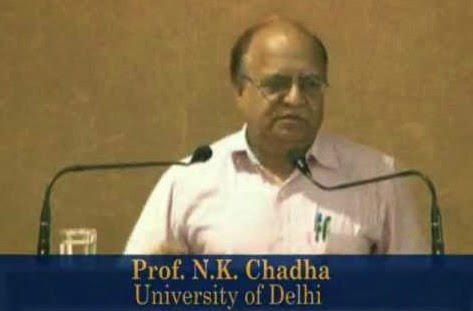 Prof. N. K. Chadha, Ph.D. (Delhi University) and Post-Doctorate (University of Virginia, USA), is a professor of psychology at University of Delhi and Head, Department of Adult Continuing Education and Extension, University of Delhi.