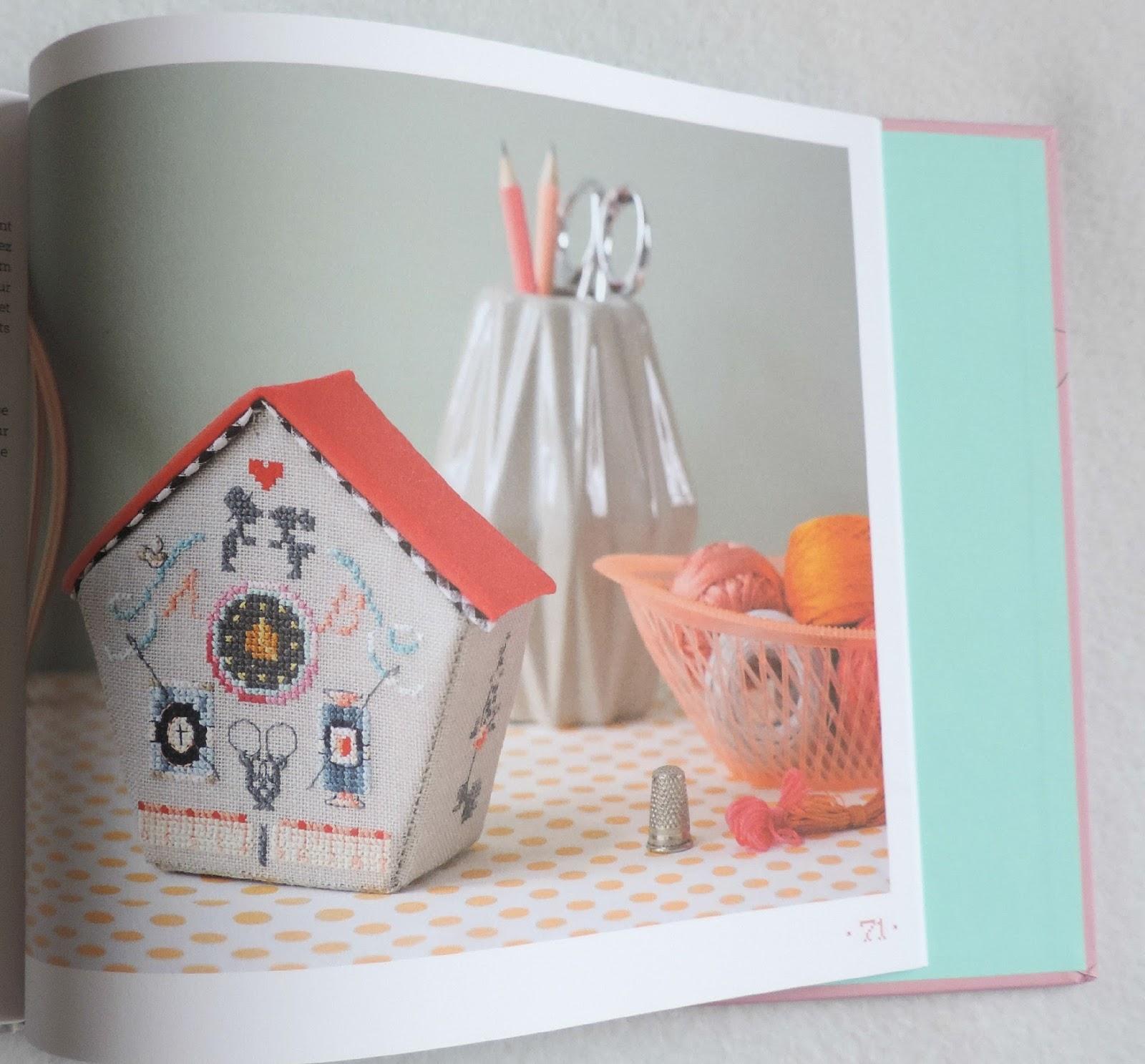 книга, домик, скворечник, вышивка, рукоделие, шитье,handmade,вышивкакрестиком,cross_stitch,crafts,схемы,Helene_Le_Berre