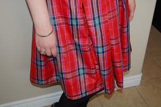 Plaid Taffeta Summer Dress by Cicely Ingleside