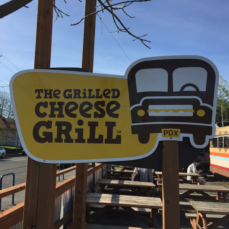The Grilled Cheese Grill in Portland