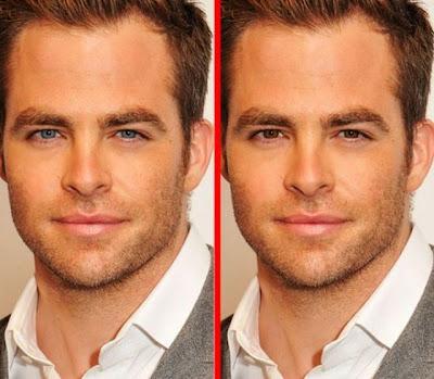 مذهل: إلى أي مدى سيتغير شكل الإنسان إذا قمنا فقط بتغيير لون عينيه