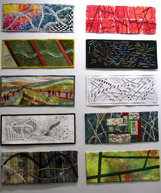 Les panneaux textiles de France Patchwork - aiguille en fête - cocoflower