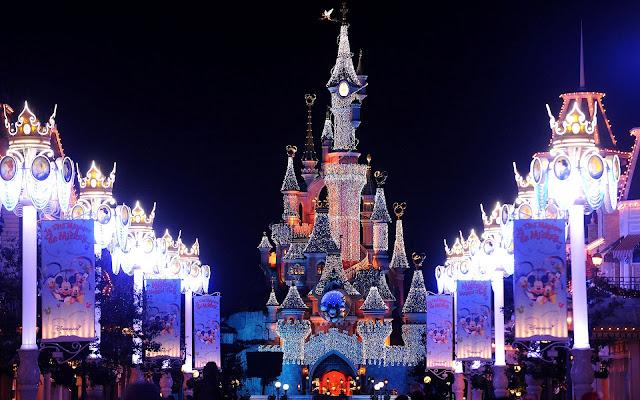 Castillo de la Cenicienta - Cinderella Castle-Disneyland