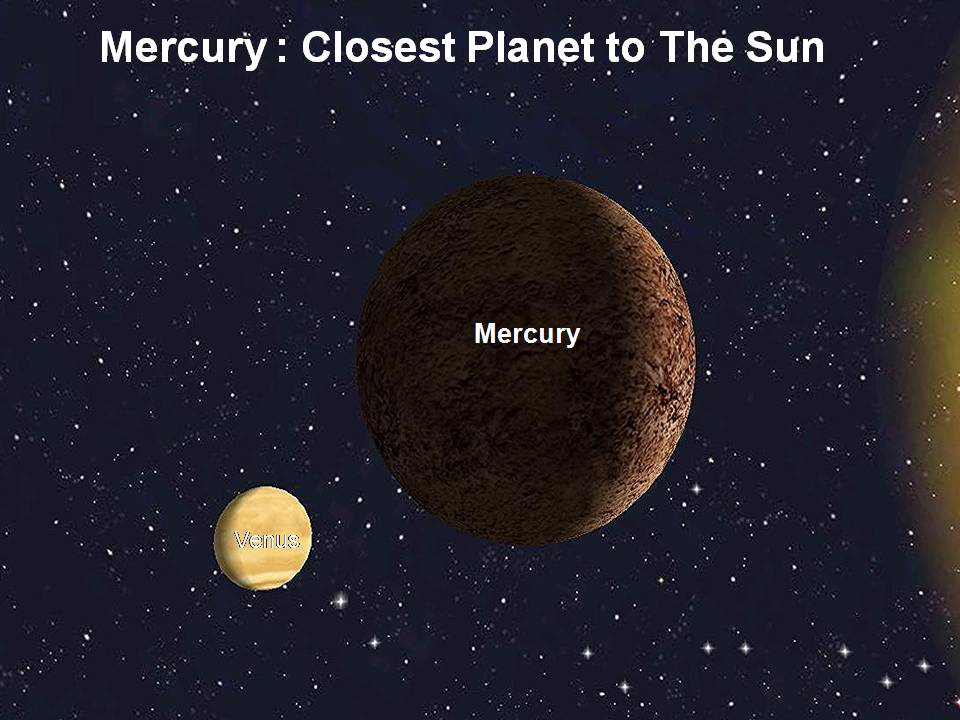 surface conditions of mercury the planet closest to the sun Mercury, the planet closest to the sun  the planets venus and mercury will seem close it will reach its maximum distance from our sun, as seen by surface.
