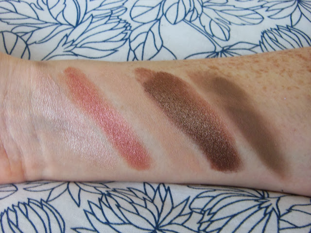 Urban Decay Vice 2 palette fourth row swatches