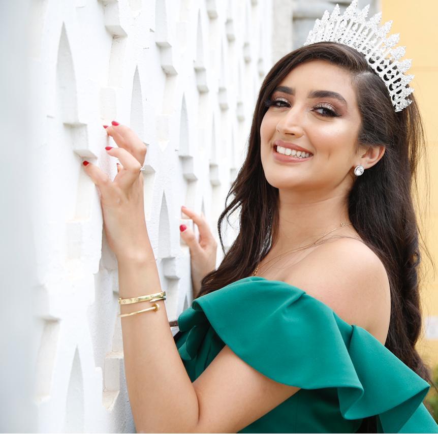 ملكة جمال العرب المغربية فريال تستعد لمجال السينما
