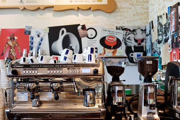 caffè lavazza at eataly