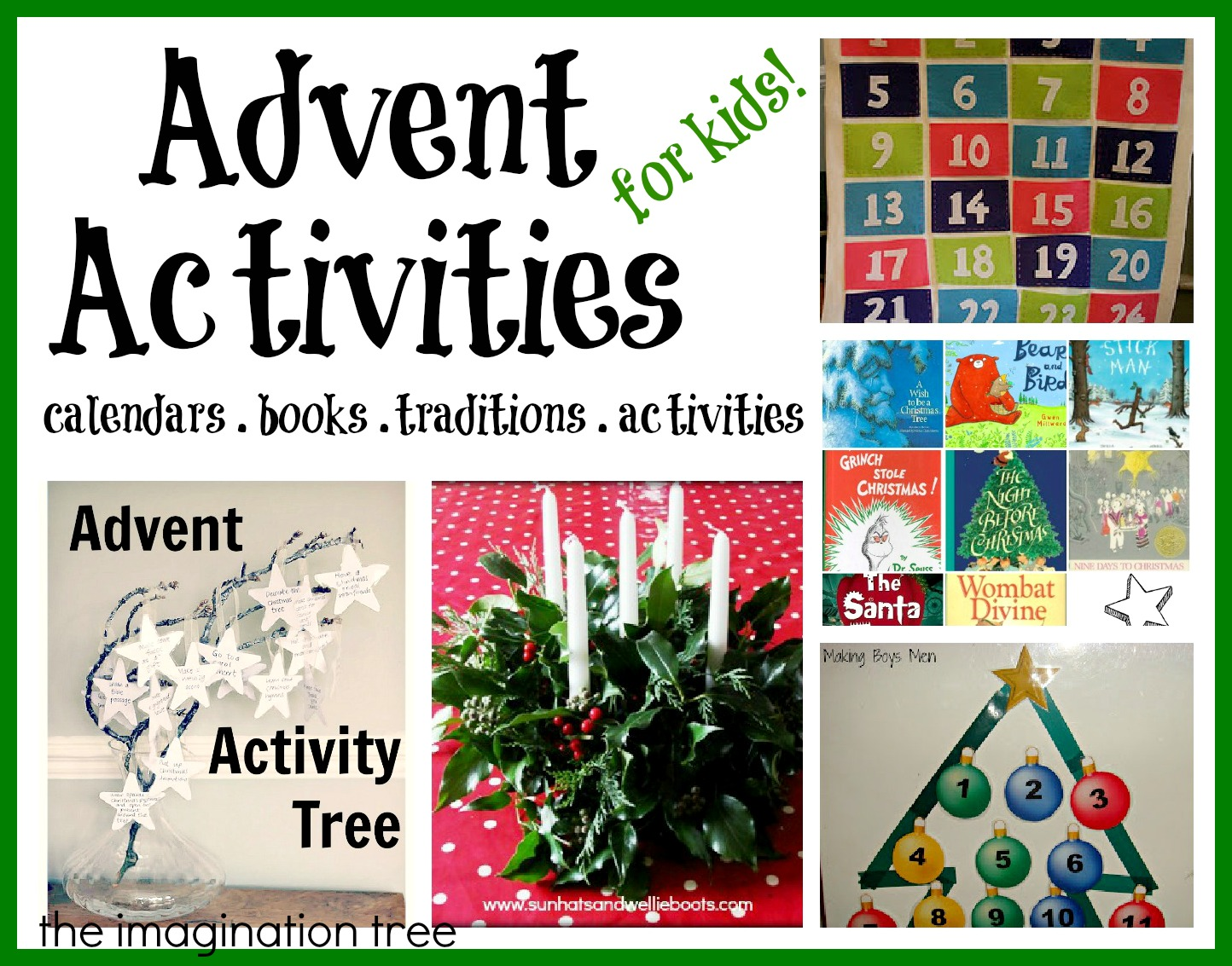 Advent Calendar Ideas Toddlers : Advent activities and calendars for kids it s playtime