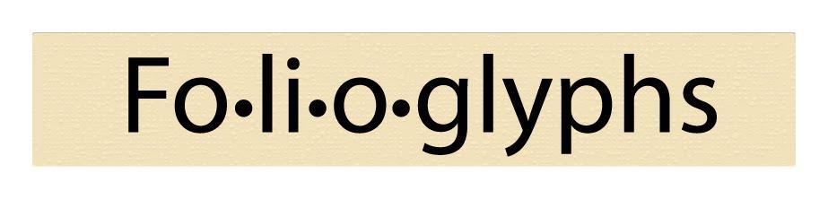 Folioglyphs