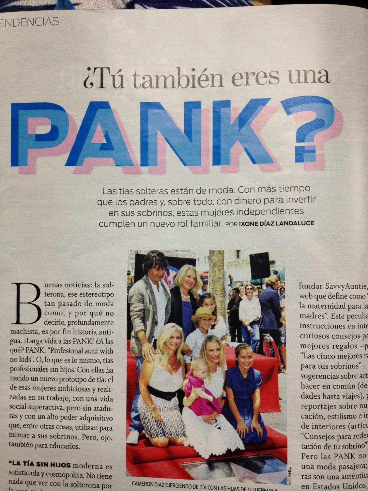 ¿Eres una soltera pank?