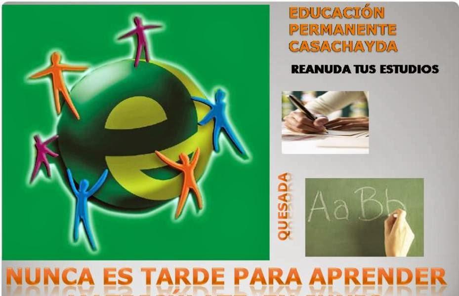 BLOG DE EDUCACIÓN PERMANENTE CASACHAYDA