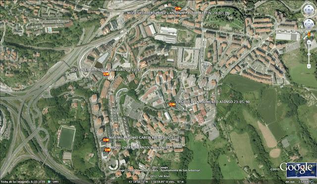 JOSÉ JAVIER URRITEGUI ARAMBURU ETA, San Sebastián, Donostia, Guipúzcoa, Gipuzkoa, España, 25/11/91
