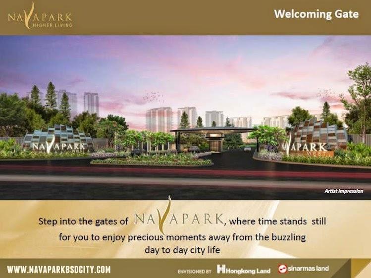 Nava Park BSD Gate Design