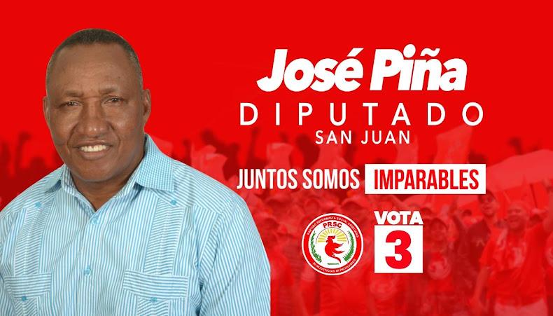 José Piña Diputado San Juan