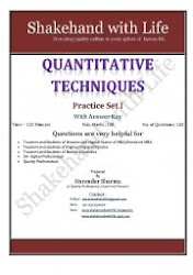 Practice Set I - 100 MCQ of Quantitative Techniques
