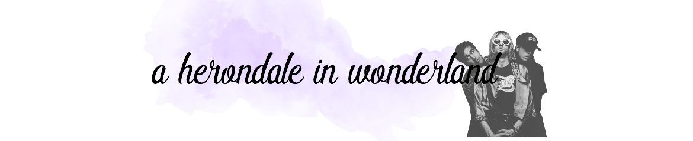 A Herondale in Wonderland