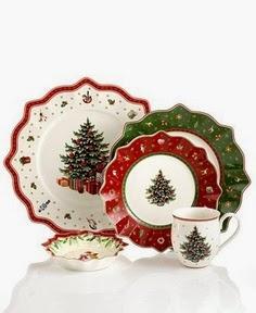 Navidad, Vajilla y Decoración