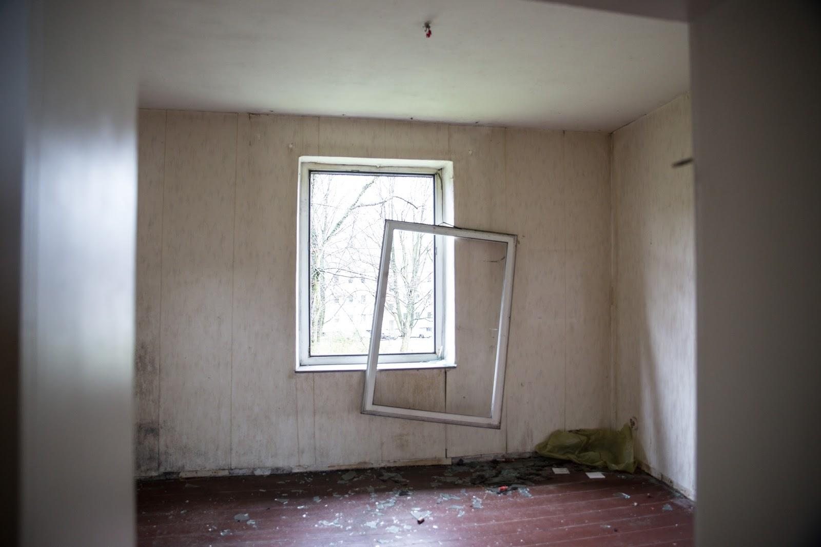 Gladbeck, verlassene Siedlung, Ruhrgebiet,