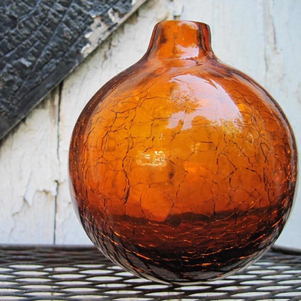 2 unique amber vase home idea gone thrifting vintage ball vases reviewsmspy