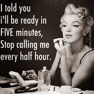 ready in 5 minutes - funny pic
