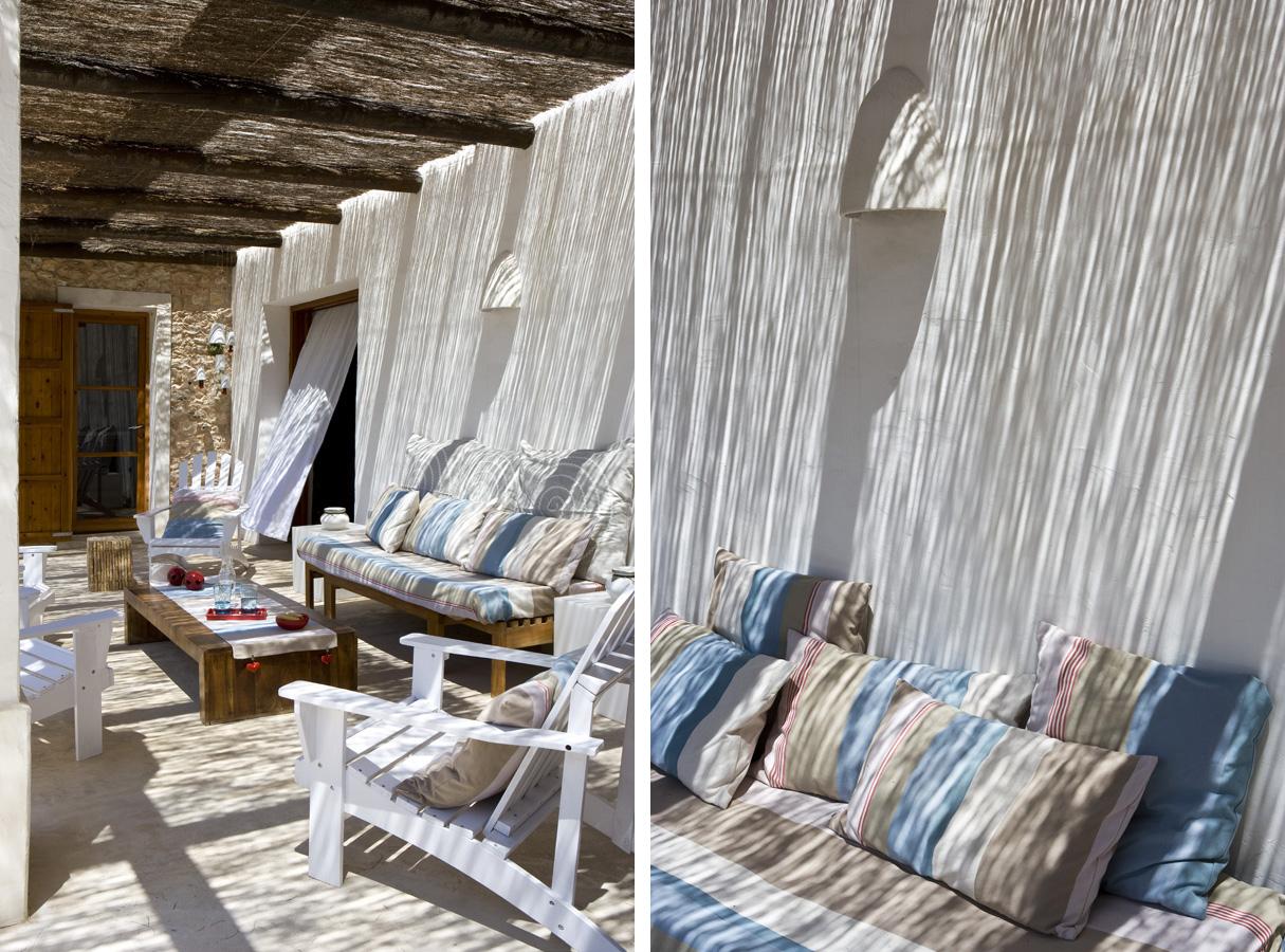 C mo decorar y aprovechar el espacio en las terrazas - Decorar jardines con materiales reciclados ...