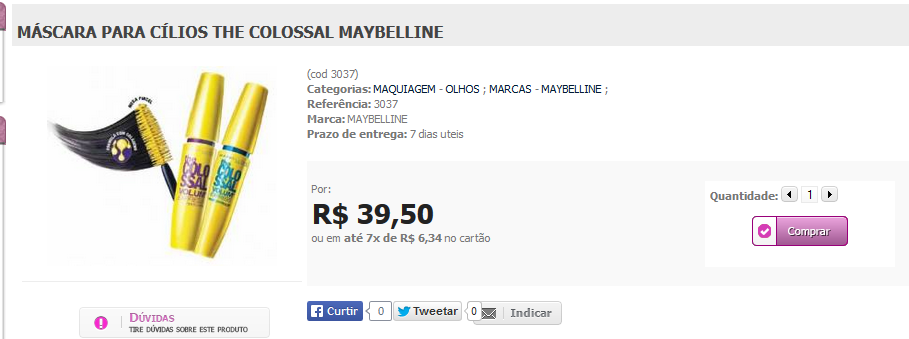 http://www.lindamargarida.com.br/MASCARA-PARA-CILIOS-THE-COLOSSAL-MAYBELLINE/prod-1954407/