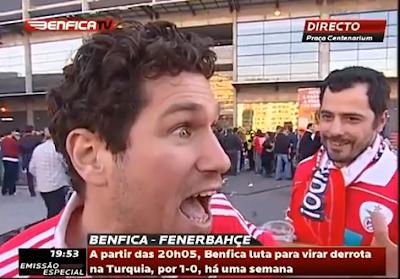 Adepto Possuído do Benfica faz apelo a Luis Felipe Vieira