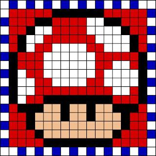 Seta roja Mario Bros