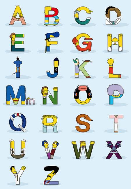 El AlfaBeto de los Simpsons