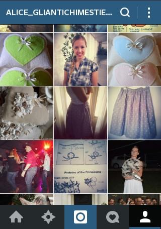Instagram: alice_gliantichimestieri