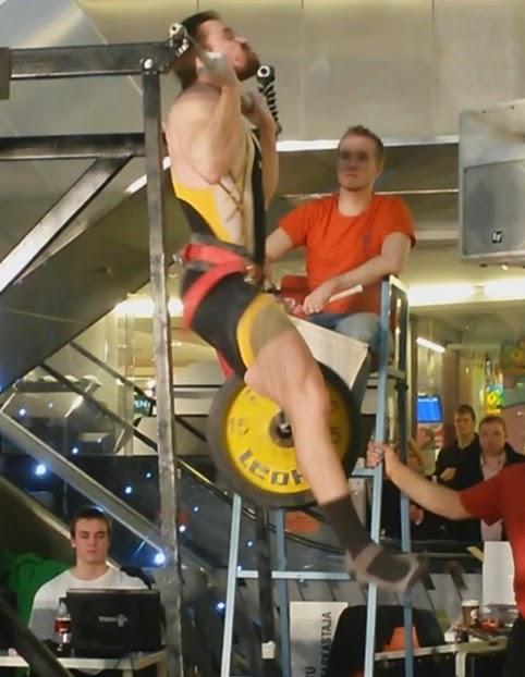 SM-kisojen 2014 avausveto 86 kg ylhäällä