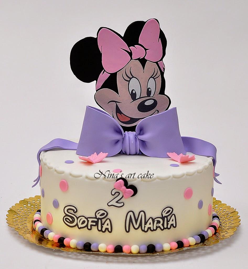 """Tort """"Minnie Mouse"""" pentru Sofia"""