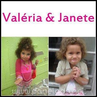Mensagens e Imagens Engraçadas de Valeria e Janete para Facebook