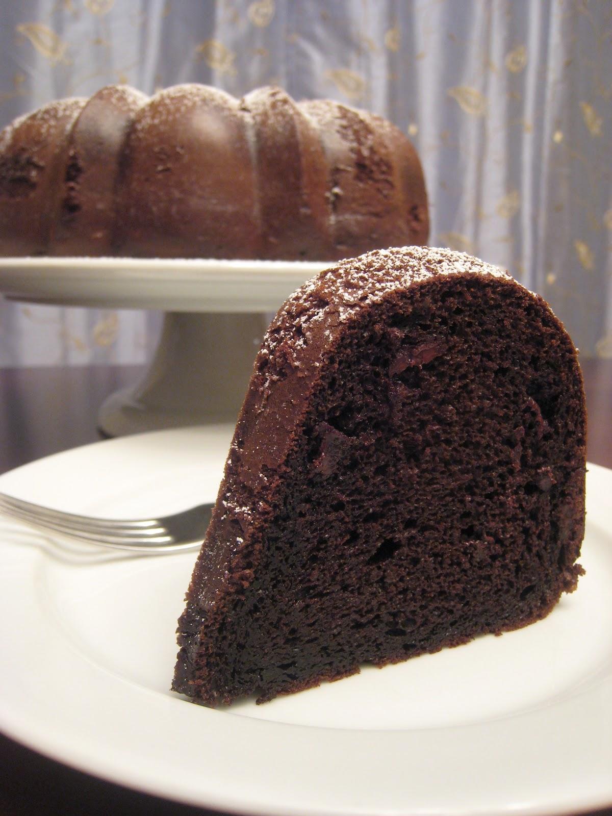 The Garlic Press Triple Chocolate Bundt Cake