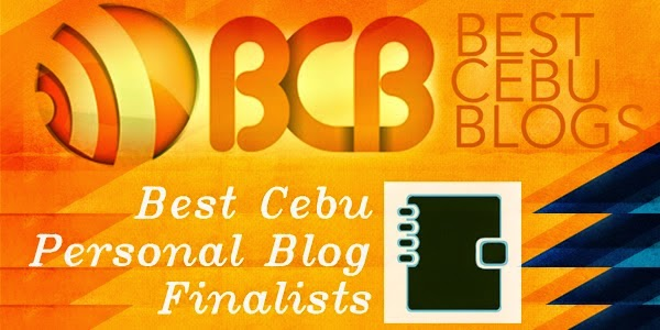 Best Cebu Personal Blog Finalist 2014