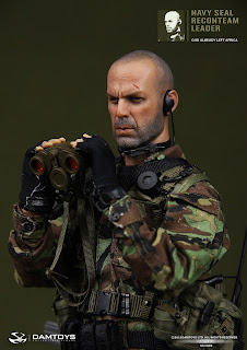 "Damtoy 1/6 Scale Navy SEAL Recon Team Leader ""Tears of the Sun"" Bruce Willis figure"