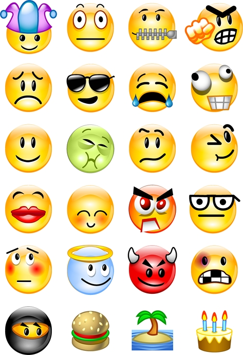 Facebook Emoticons - Tutt'Art@