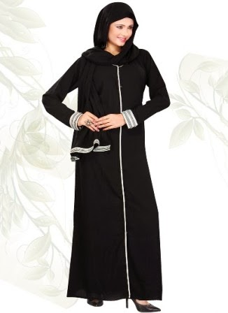 Modern Abaya Designs for Girls