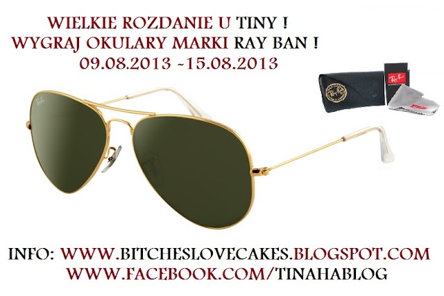 GIVEAWAY WITH RAY BAN
