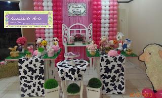 festa decoração fazendinha fazenda