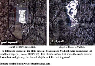The Sacred Masjids of Islam Shining Like Stars