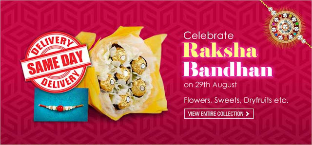 Raksha Bandhan Rakhi recharge shopping offers