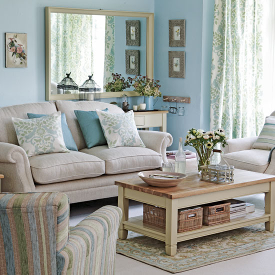 Home interior design good collection of living room styles for Duck egg blue and grey living room ideas