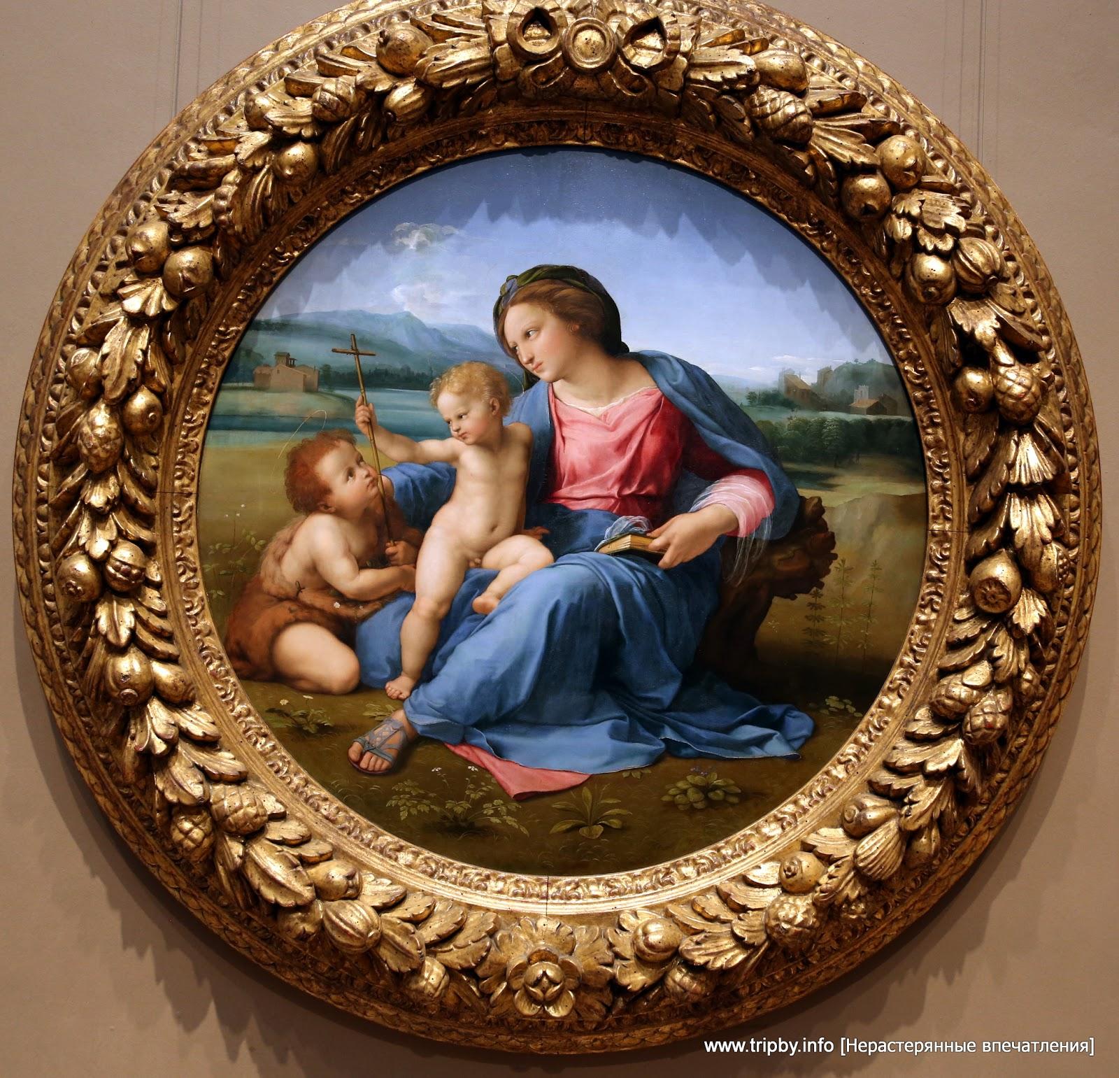 Raphael Marchigian, 1483 - 1520 The Alba Madonna c. 1510